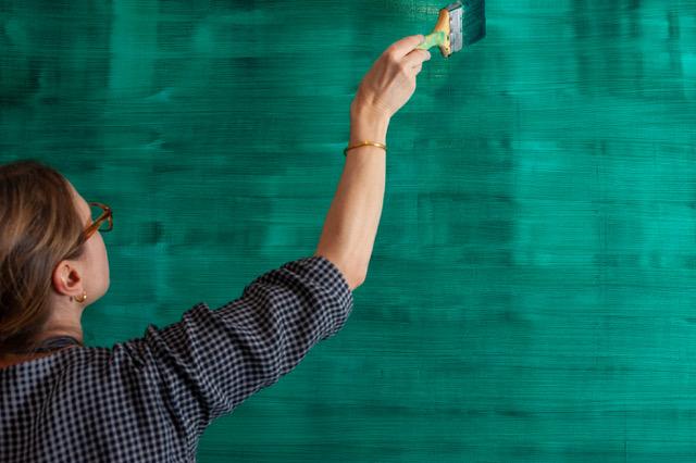 Karin Schaefer painting